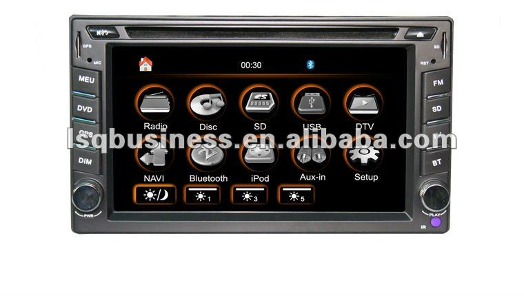 Universal Car DVD Player/DVD/CD/VCD/MP3/MP4/ST-8101