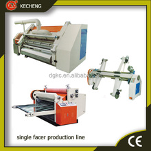 Single facer /paper cutting/ mill roll stand machine/corrugated cardboard production line