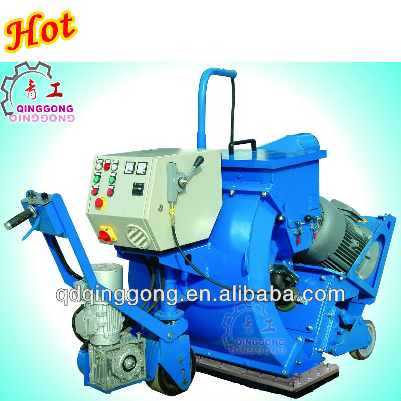 road marked line cleaning machine manufacturer from China/road shot blasting machine/floor shot blaster