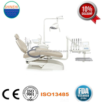 Luxury Up Mounted Anle Dental Unit for Sale, Foshan Factory Anle Brand Dental Chair, Manufacturing Dental Chair Anle