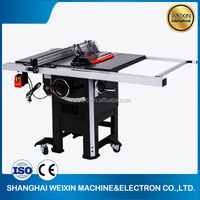 Hot sale machine of 10 inch contractor sliding table saw