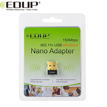 EDUP EP-N8553 150Mbps USB WiFi Adapter for Windows, Mac OS, Linux, Android
