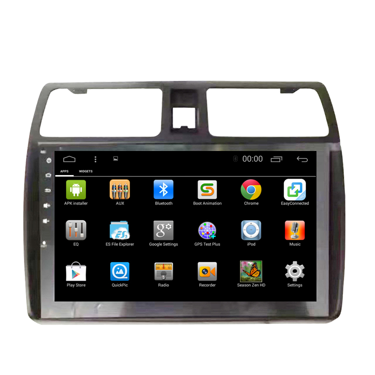 Bosstar android car dvd stereo player for suzuki swift with gps navigation wifi bluetooth 3g