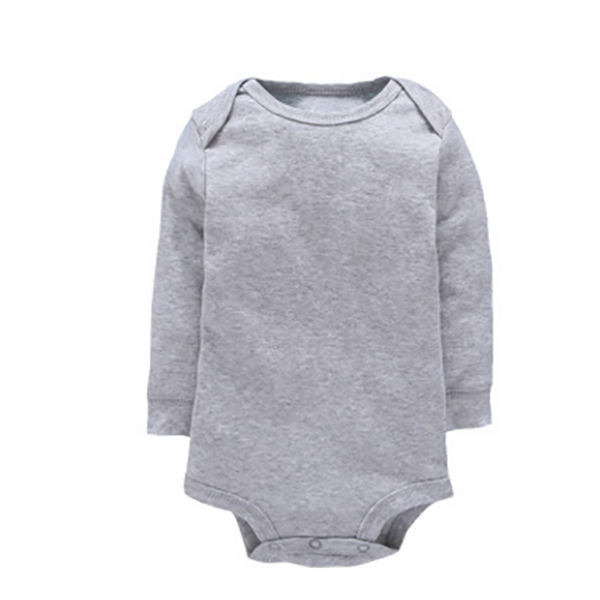 100% Cotton New Design Bodysuit Long Sleeves Baby Girl Rompers