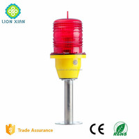 LED radio signal tower obstacle indicated light