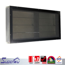 High quality aluminum frame louvwe window with glass blades with fly screen