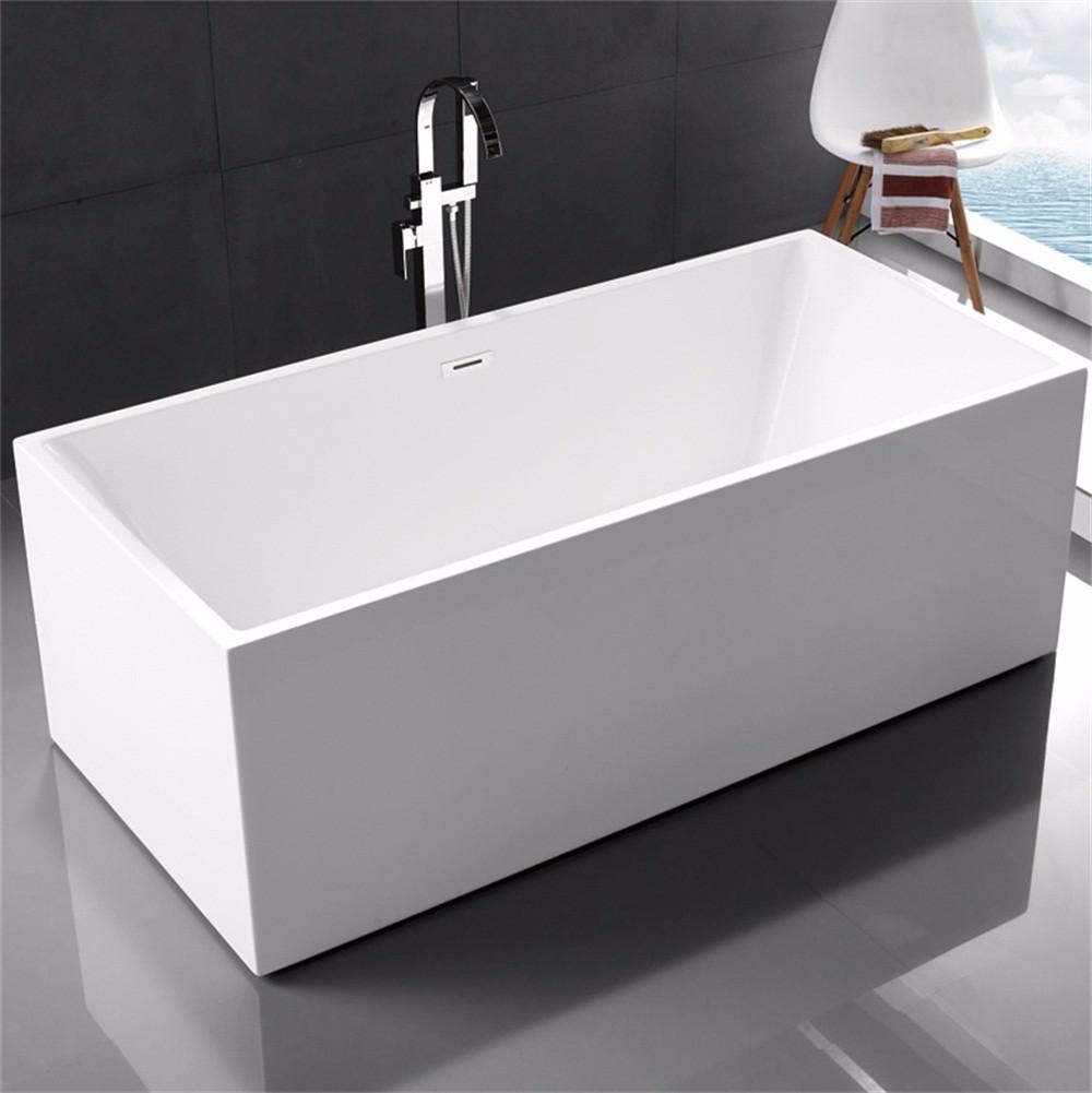 Rectangle 1.5m 1.6m Acrylic Standard Bathtub - Buy 1.5m Bathtub,1.6m ...