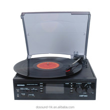 usb sd bluetooth vinyl record player gramophone record player