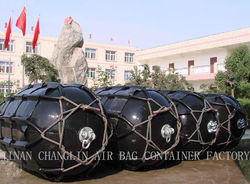 Floating type marine rubber fenders