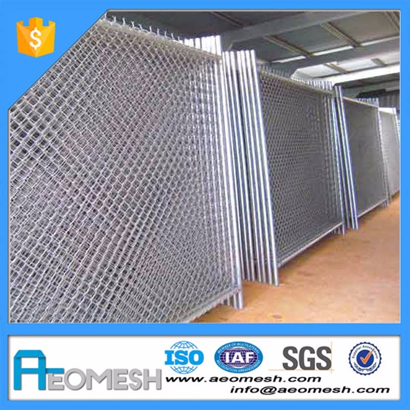 Steel Wire Removable Chain Link Temporary Construction Fence