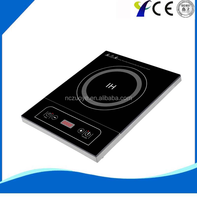 High quality crystal plate induction cooker control panel