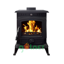 Z-19 wood heater/wood burning fireplace/cast iron stove