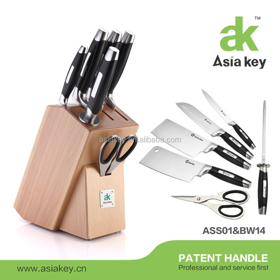 High Quality 7pcs Vegetable Carving Knife Set With Holder Made In China