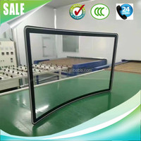 Screen tv lcd protector tempered curved glass