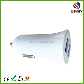 Wholesale custom 2 port usb car charger adapter OEM available