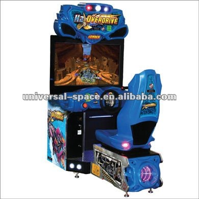 H2 Overdrive amusement game and arcade games