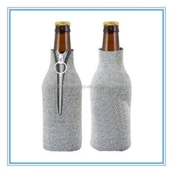factory price neoprene foldable beer bottle stubby cooler coozie holder