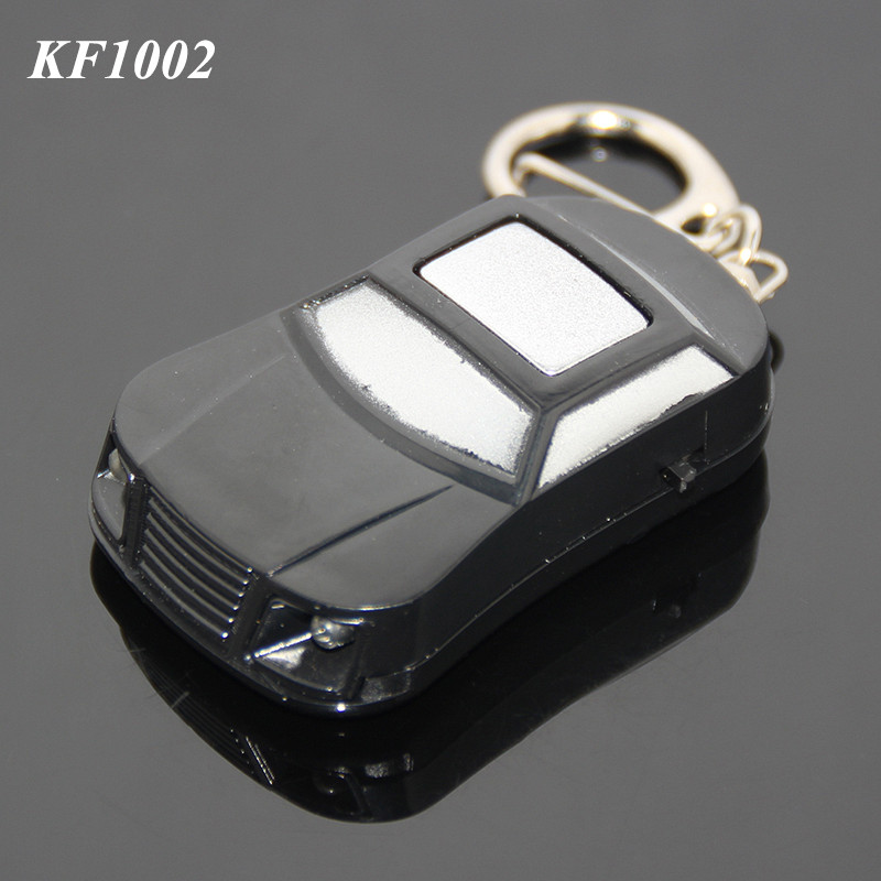 New Car Shaped LED Plastic ABS Electronic Keyfinder Key Holder Whistle Key Holder Finder