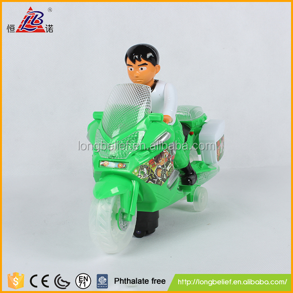 Top quality with light and music B/O motorcycle old model car for kids