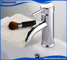Single Handle Face Wash Basin Brass Bathroom Faucet