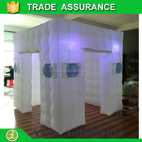 DHL free shipping 8x8x8ft new style inflatable led photo booth for event