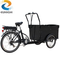 bicycle shop coffee tricycle cargo bike