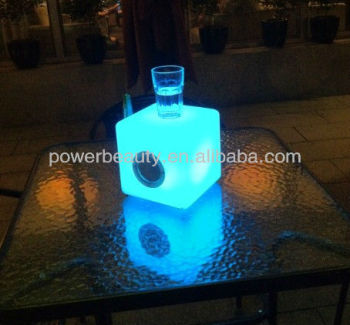 home/garden Bluetooth Speakers LED CUBE decoration lighting