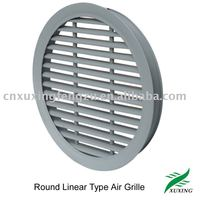 Round Linear Type Air Grille