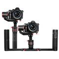 FeiyuTech A1000 black gimbal for mirrorless and DSLR cameras with Auto-Ratation function perfect with Cam's time-lapse for Cano