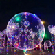 New YEAR Hot Decoration LED Light Bobo Balloon 18 Inches LED Balloon Light