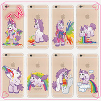 Best quality mobile cover phone case Free sample China bulk buy custom printed cute unicorn shaped phone case