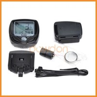 Multifunction New Bike Bicycle Cycling Computer LCD Odometer Speedometer SD YS Bicycle Computer