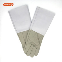 SHINEHOO Cow Leather Miner Safety Hand Protective Gloves