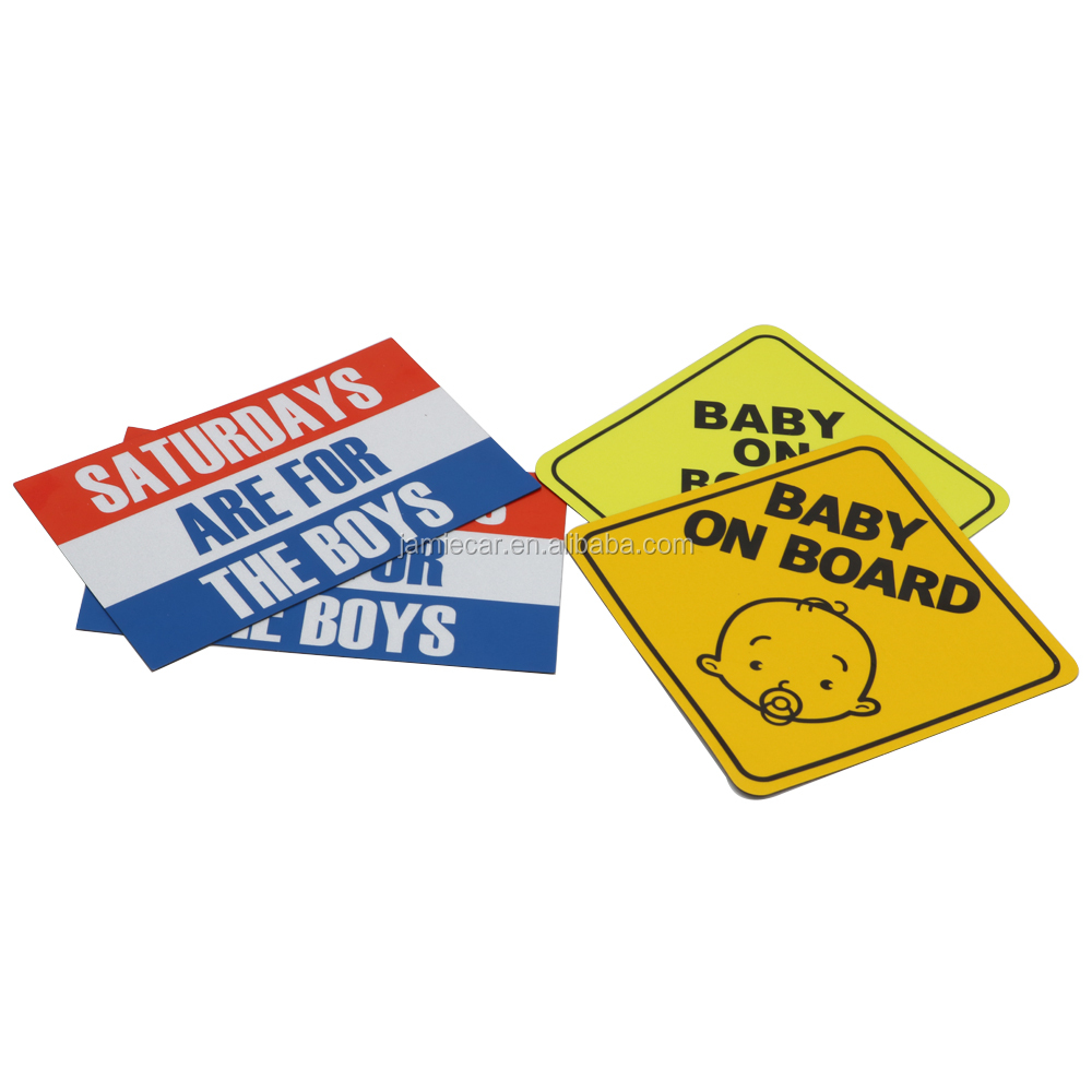 Amazon best seller custom baby on board sign with suction cup