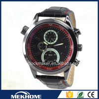 man cheap alloy original leather watches in bulk paypal