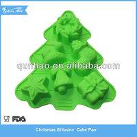 Christmas Tree Silicone Baking Molds & Silicone Bakeware