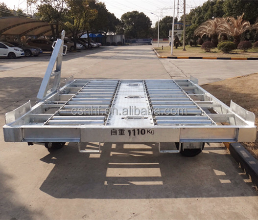 7 Tons Airport Container Dolly and Pallet Trailer for LD3,LD8,P6P,P12