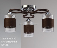 Brief hemp winded chandelier pendant light for home and officet 16345-3