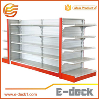 Liquor grocery store shelving Commercial supermarket Shelf with Convex Back Panel