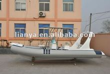 Liya 6.2m 10persons sport rib boat luxury yacht with price