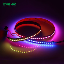 <strong>RGB</strong> color DC5V LED strip 5050 SMD 144pixels SK9822 flexible light