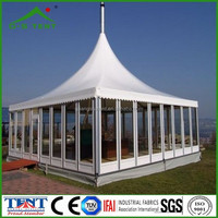 pagoda glass marquee tent 2016