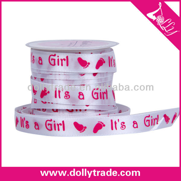 Factory Direct Sale Cheap Printer Ribbons Fabric Grosgrain Ribbon