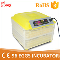 CE proved mini incubator for quail eggs in canada for hot sale YZ-96A