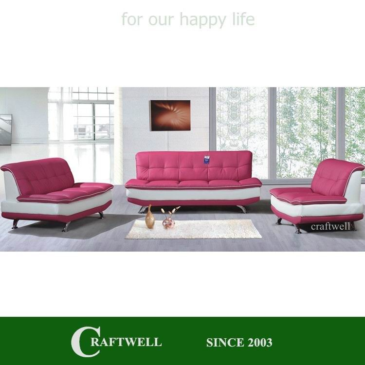 rose color romantic low seat armless chair sofa without armrest, leather seats and sofas