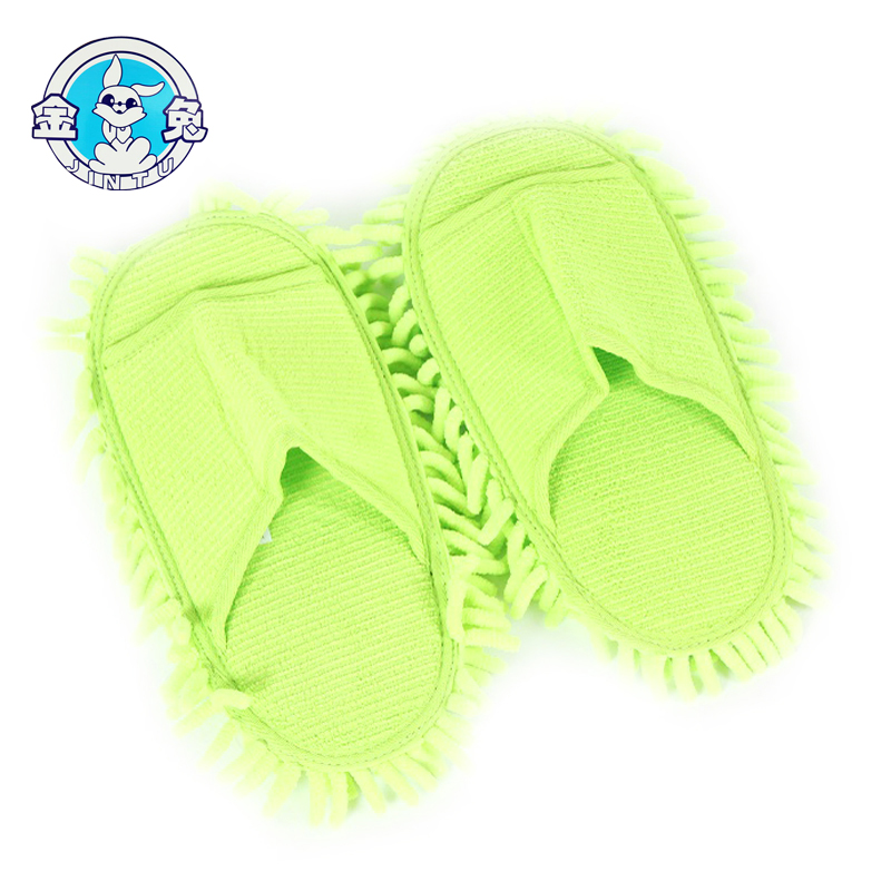 Microfiber and Convenient mopping shoes suitable for lazy person