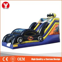 Inflatable slide, kids toy car slide