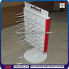 TSD-M829 Custom girl hair accessories metal pegboard display stand,boutique store furniture,boutique display shelf