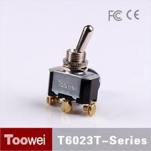 Toowei 1P2T 3P 3-way power control medium toggle switch T6023