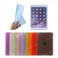 Eco-friendly Transparent TPU soft back case for iPad Mini 4, for iPad Mini 4 case cover